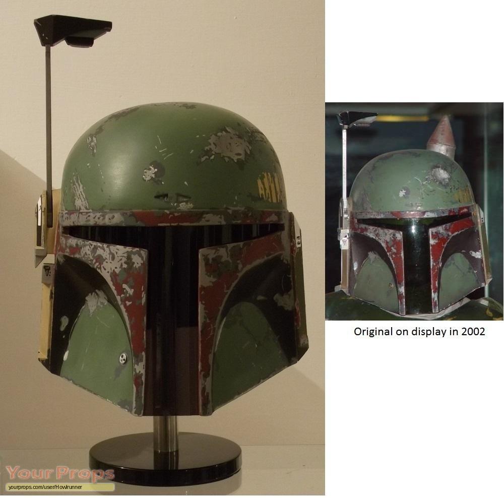 replica movie costume  sc 1 st  Your Props & Star Wars: The Empire Strikes Back ESB Boba Fett helmet replica ...