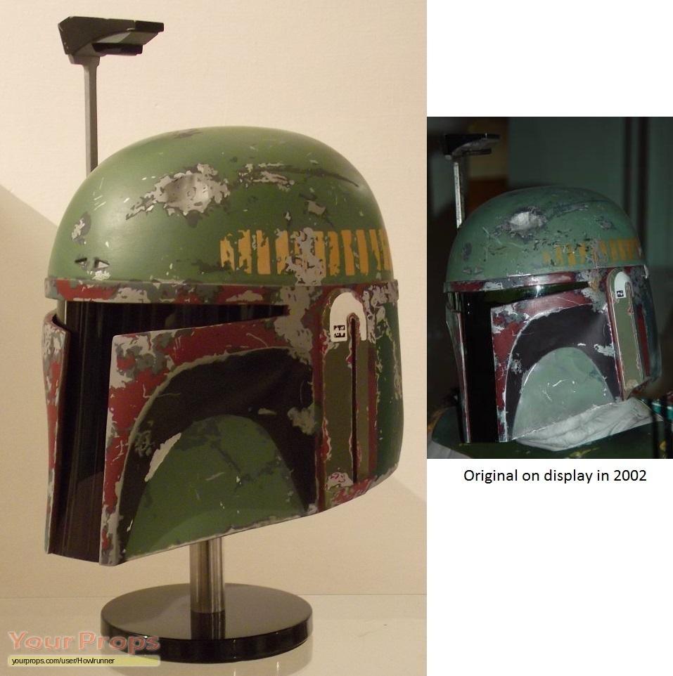 Star Wars: The Empire Strikes Back ESB Boba Fett helmet ...