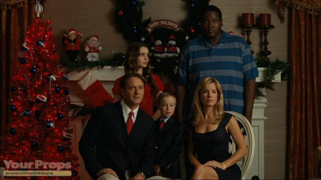 The Blind Side Christmas Card replica movie prop