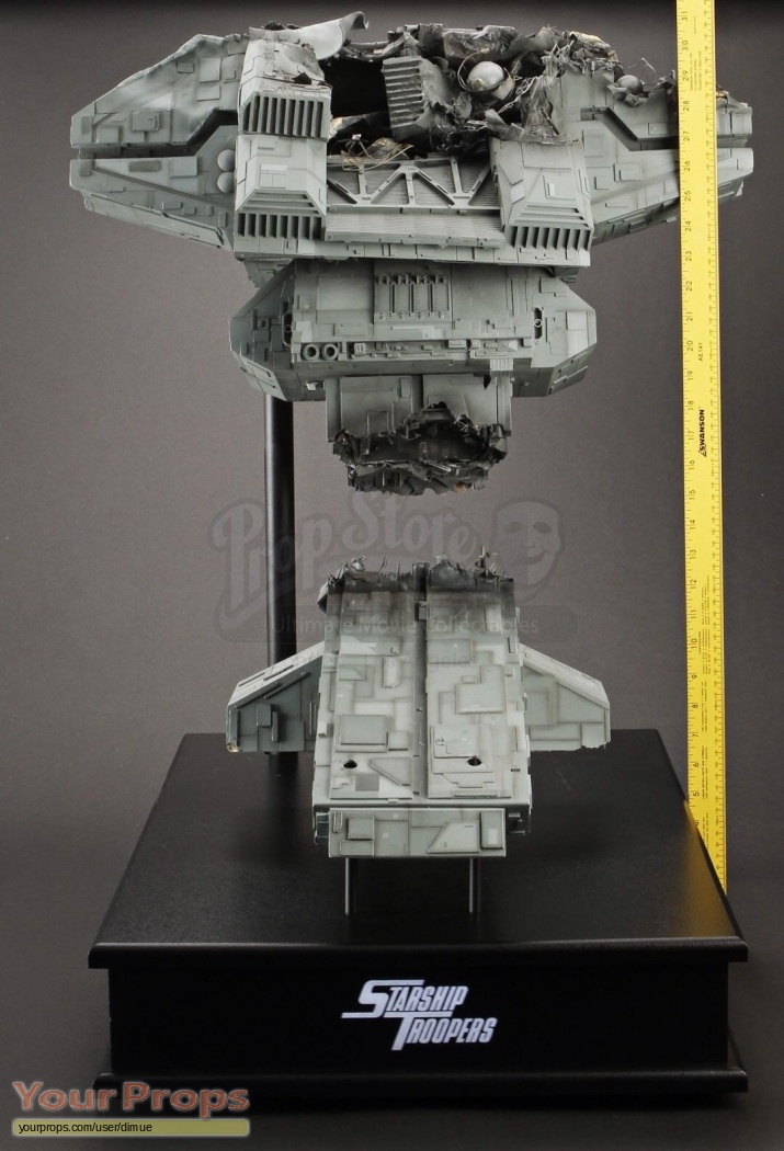Starship Troopers Battle Damaged Rodger Young Tower
