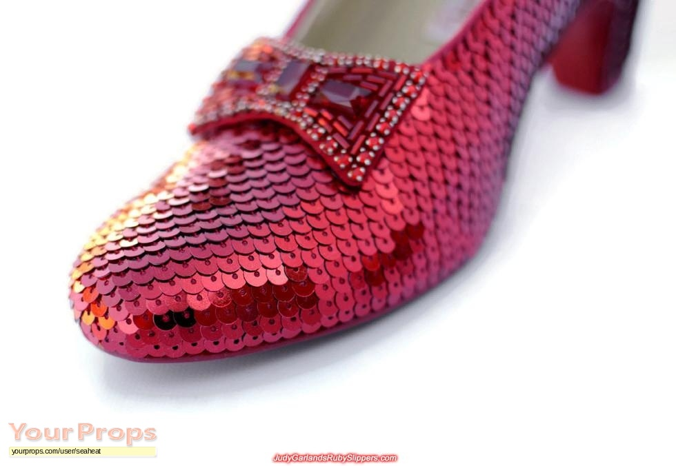 The Wizard Of Oz Ruby Slippers Replica Movie Costume