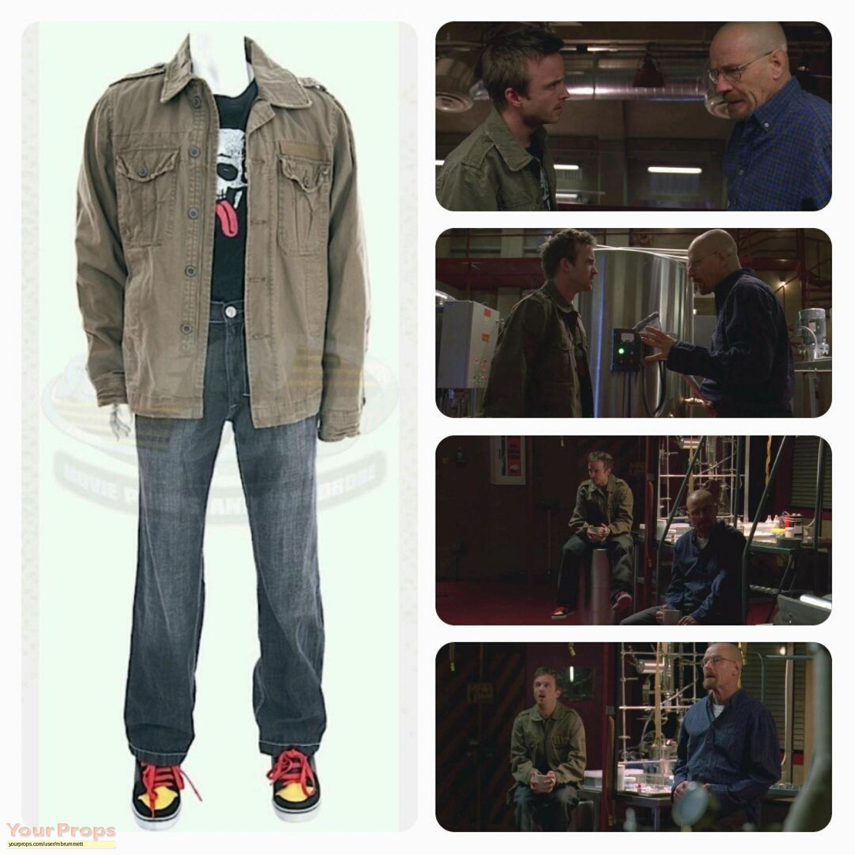 Breaking Bad Jesse Pinkman's (Aaron Paul) Screen Worn