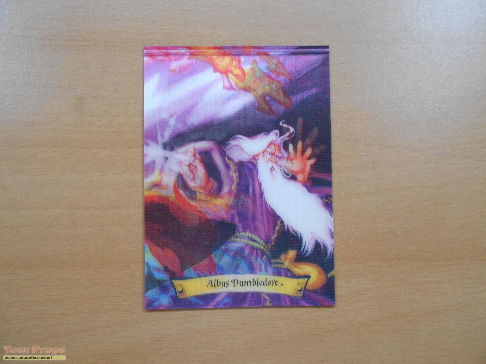 Harry Potter movies The Albus Dumbledore (Chocolate frog) Card ...