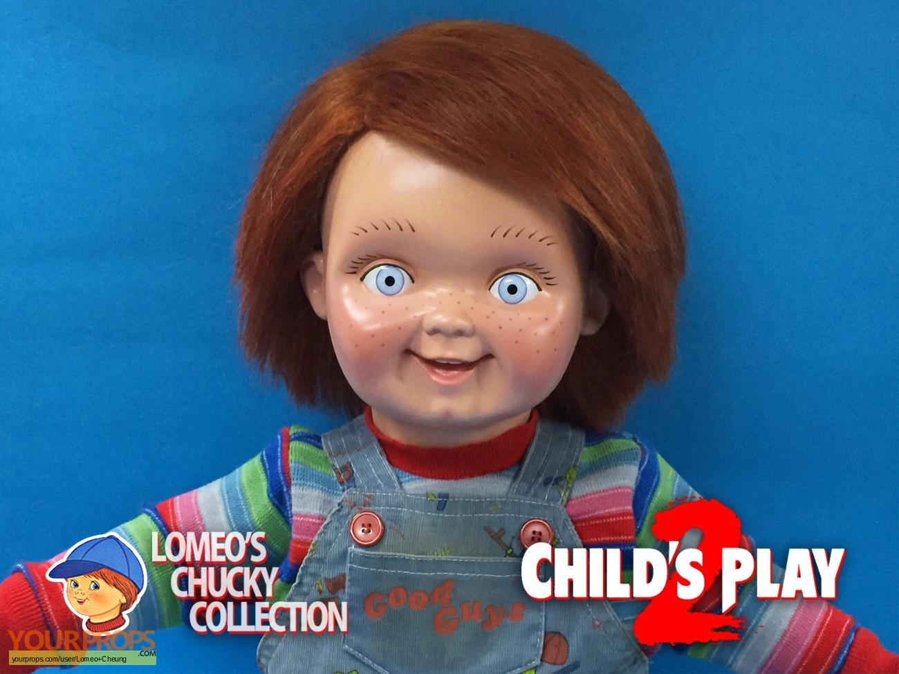 Child's Play, Screen Used Original Good Guy Doll and Screen Used Good Guy Water Gun Props