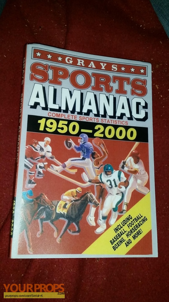 Back to the future grays sports almanac newhairstylesformen2014 com
