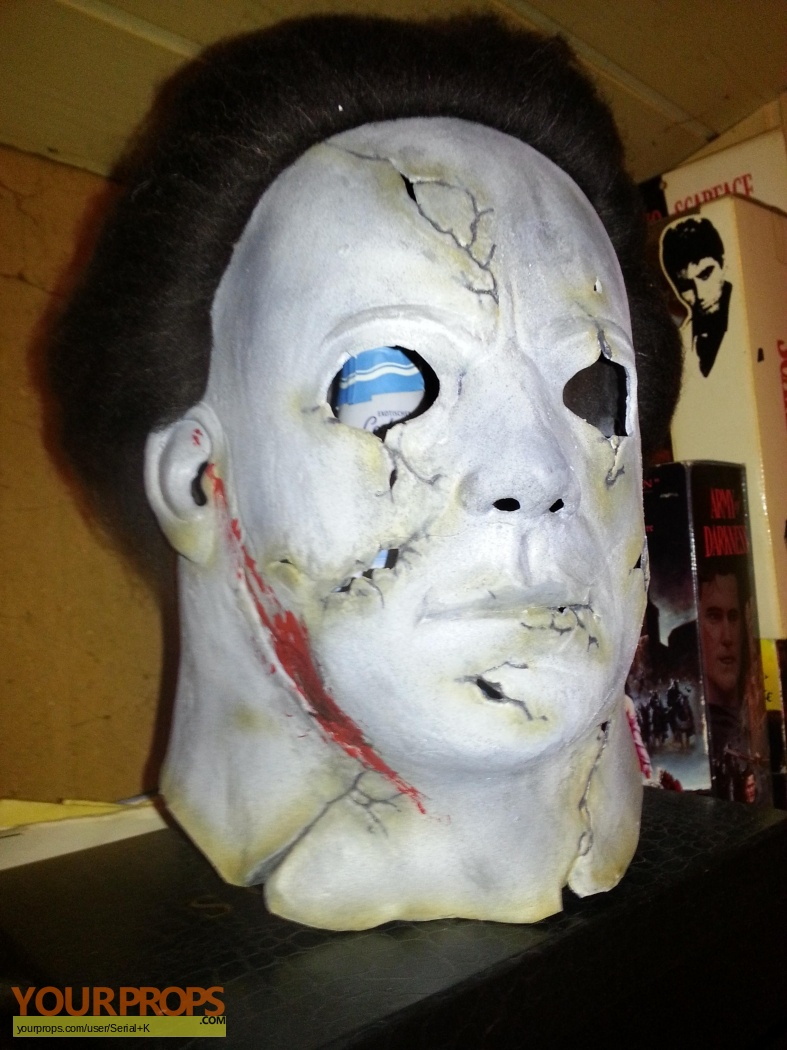 Halloween 2 (Rob Zombie's) Michael Myers Mask part 2 from FX ...