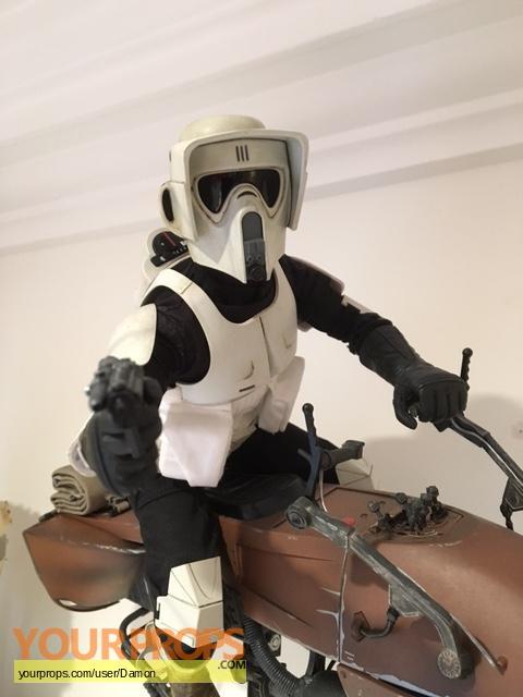 Star Wars Return Of The Jedi Sideshow Biker Scout And Speeder