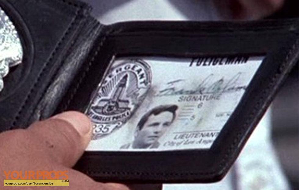 Columbo Lt Lieutenant Columbo LAPD ID card, 1st type ...