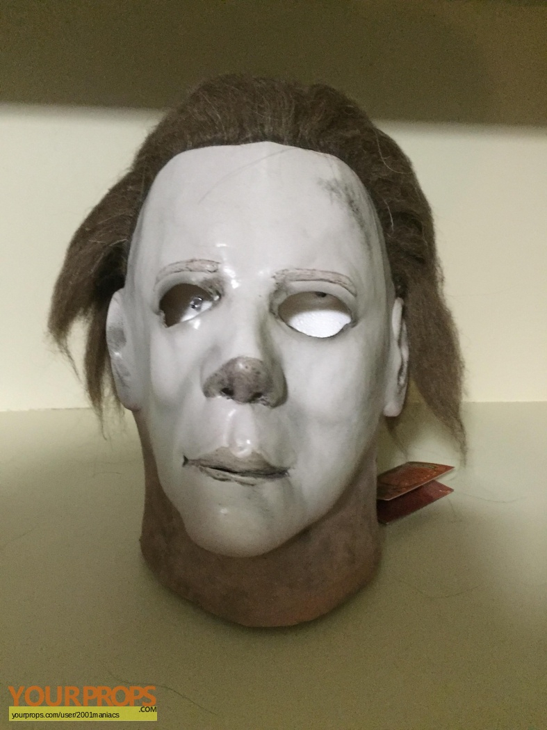 Halloween 2 Michael Myers Mask replica movie prop