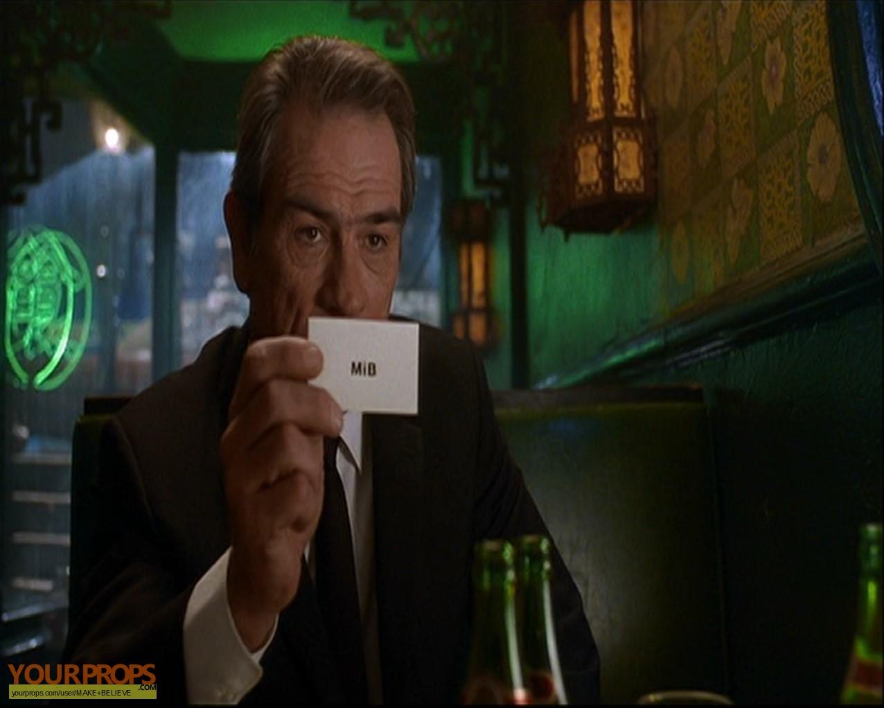 Men in Black Business card replica movie prop
