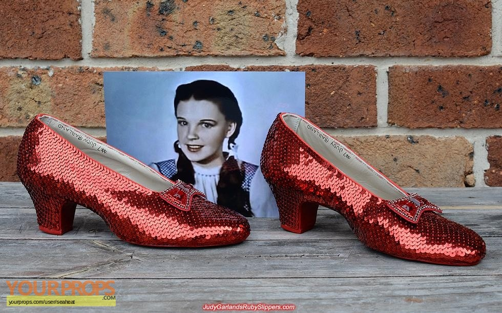 replica movie costume  sc 1 st  Your Props & The Wizard of Oz Ruby Slippers replica movie costume