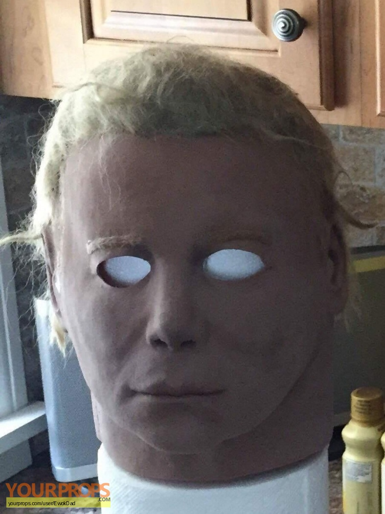 Halloween NAG 75K Capt Kirk Michael Myers Mask replica movie prop