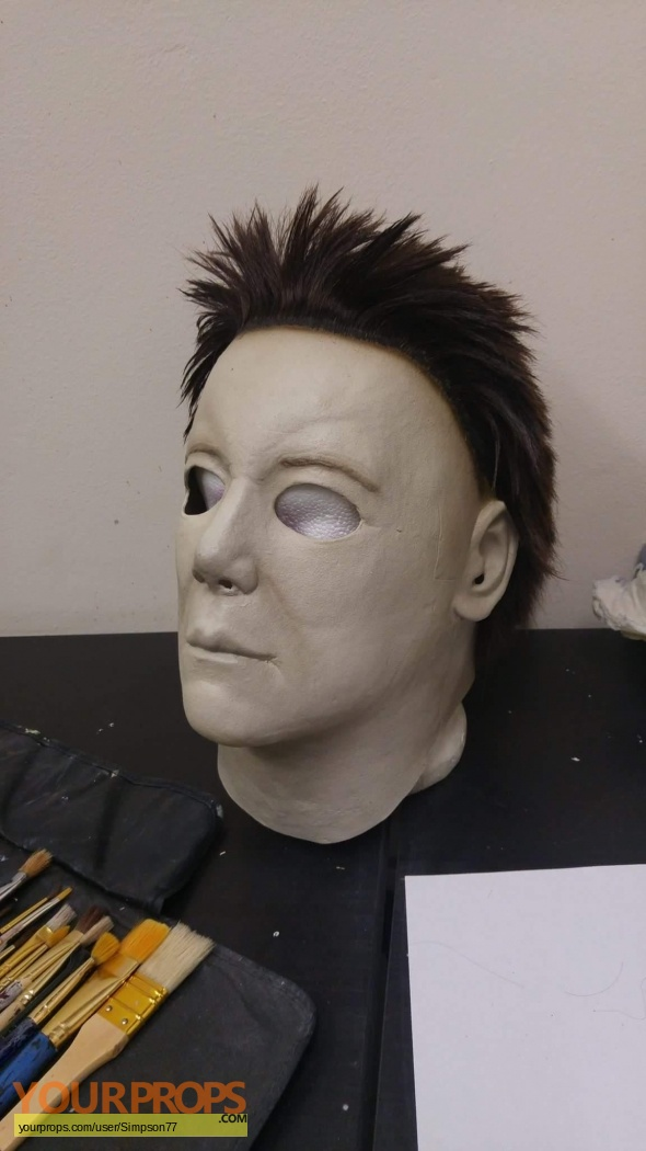 Halloween H20: 20 Years Later Michael Myers mask. replica movie prop
