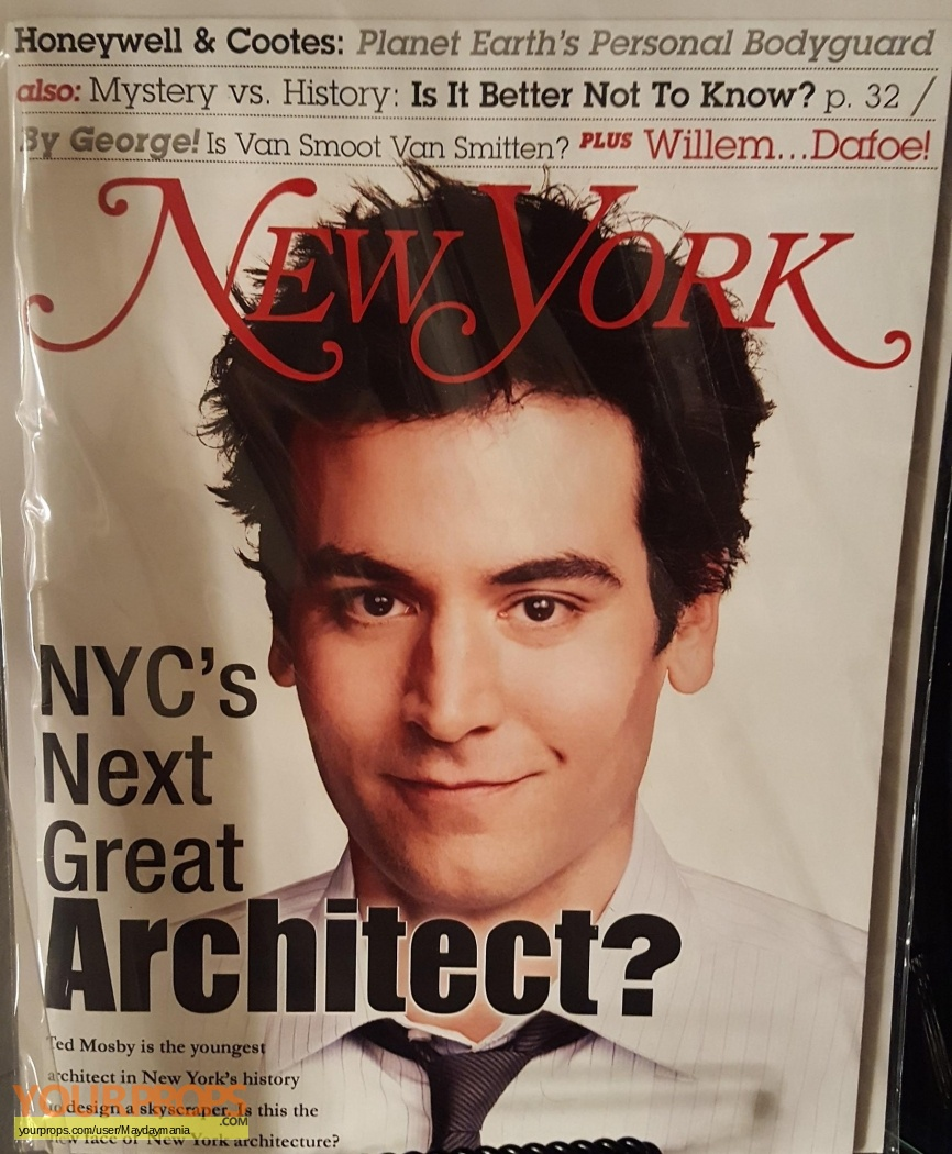 Image result for ted mosby new york magazine cover