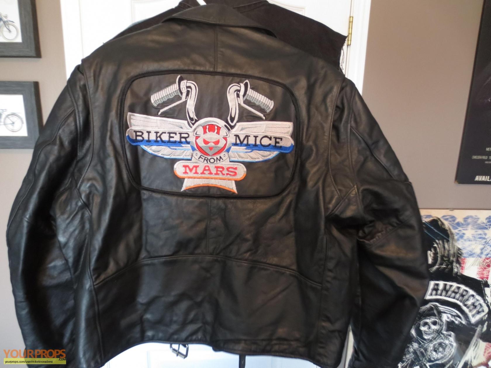 biker mice from mars biker movie crew jacket original tv
