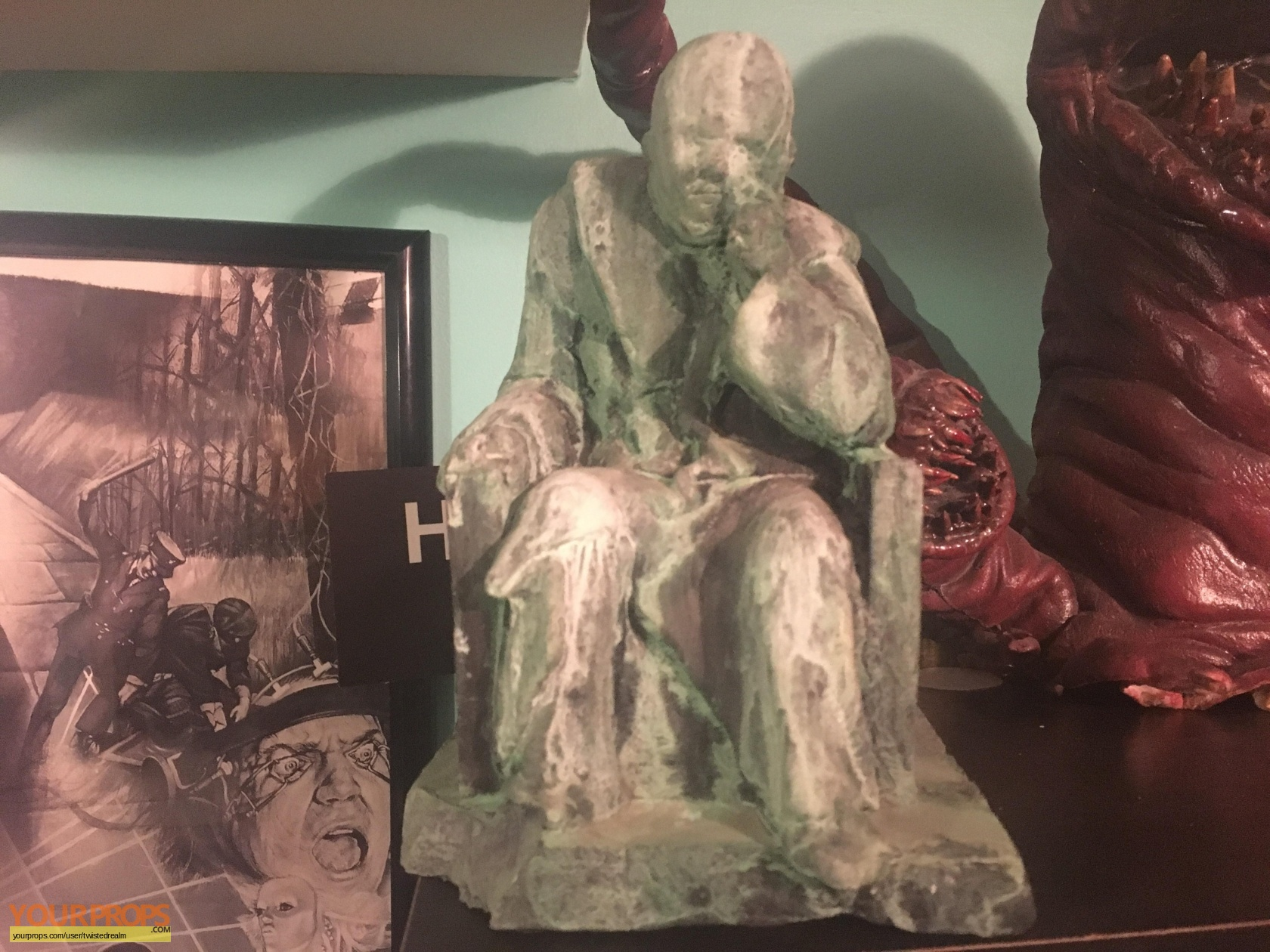 Tales From The Crypt Crypt Keeper Lair Statue Original Tv
