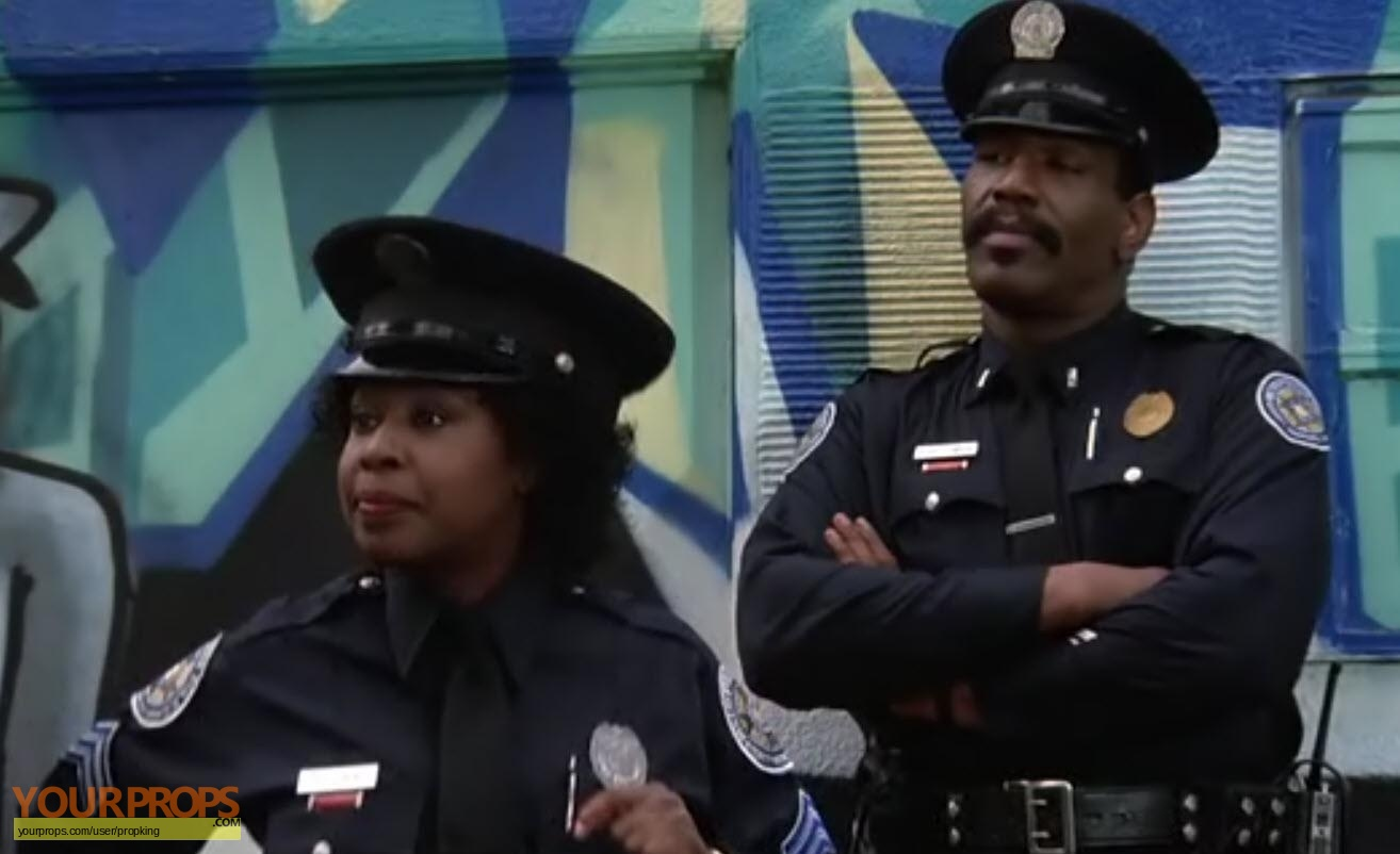 Police Academy Hooks Marion Ramsey Worn Police Shirt Original Movie Costume