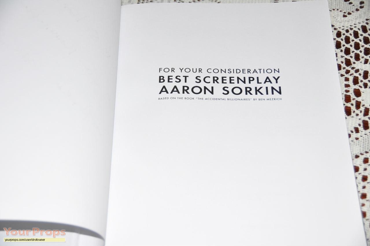 Aaron Sorkin Teaches Screenwriting Masterclass Review (Week 1)