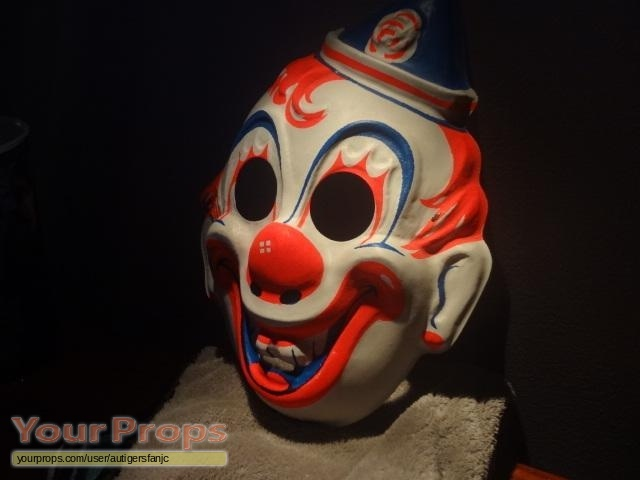 Rob Zombie Halloween Clown Mask.Halloween Rob Zombie S Vintage Collegeville Clown Mask