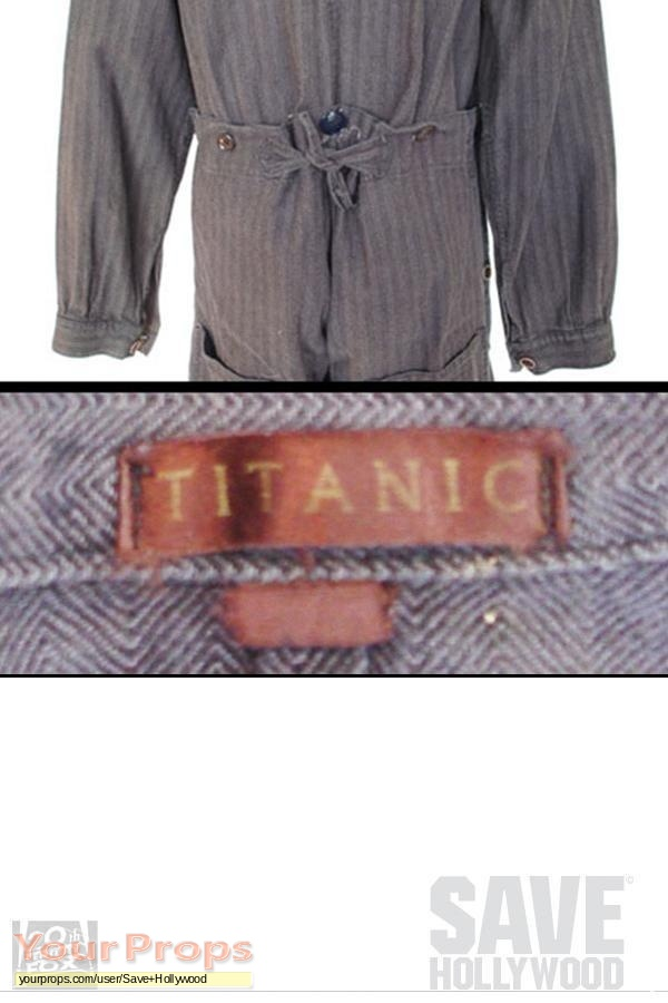 Titanic Engine Room Scene: Titanic Engine Room Worker Coveralls Original Movie Costume