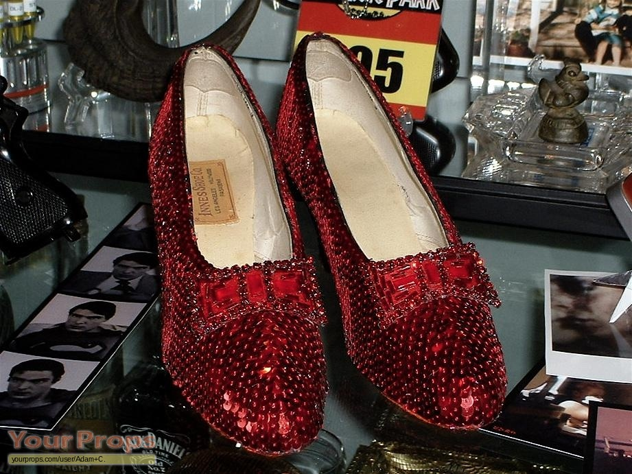 The Wizard Of Oz Dorothy S Ruby Slippers Replica Movie Prop