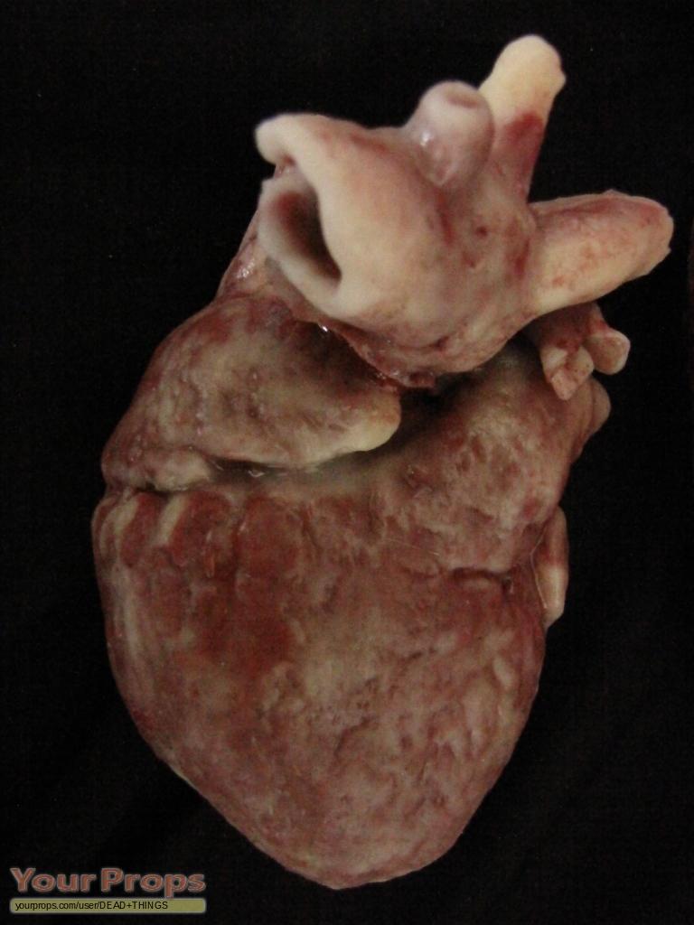My Bloody Valentine Silicone Human Heart Original Movie Prop