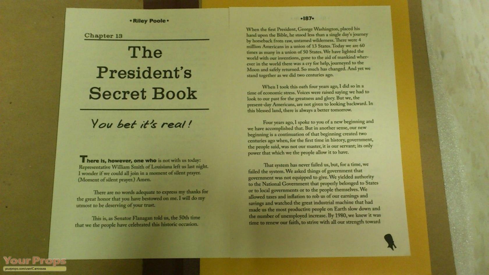 National Treasure 2 Book of Secrets Riley Pooles Templar