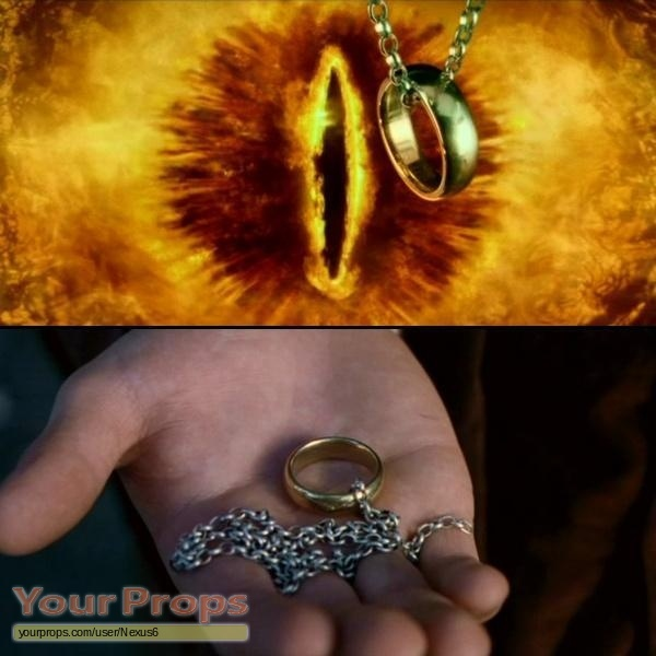 Lord Of The Rings Ring Gold Buy
