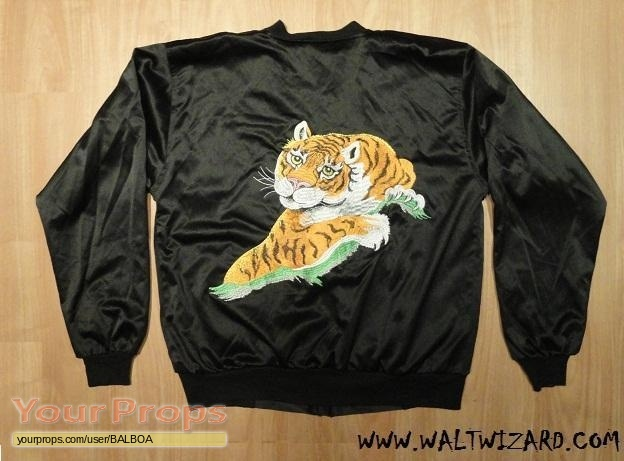 Rocky Ii Rocky Black Tiger Jacket Replica Movie Costume