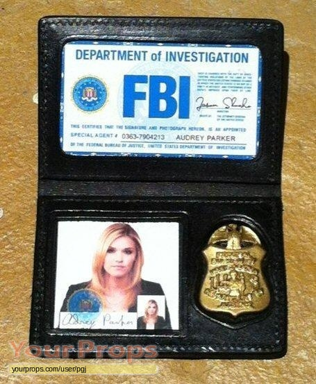 Haven FBI credentials replica TV series prop