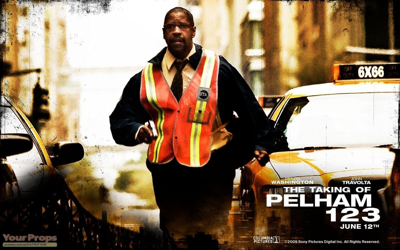 The taking of pelham 1 2 3 denzel washington screen worn for The pelham