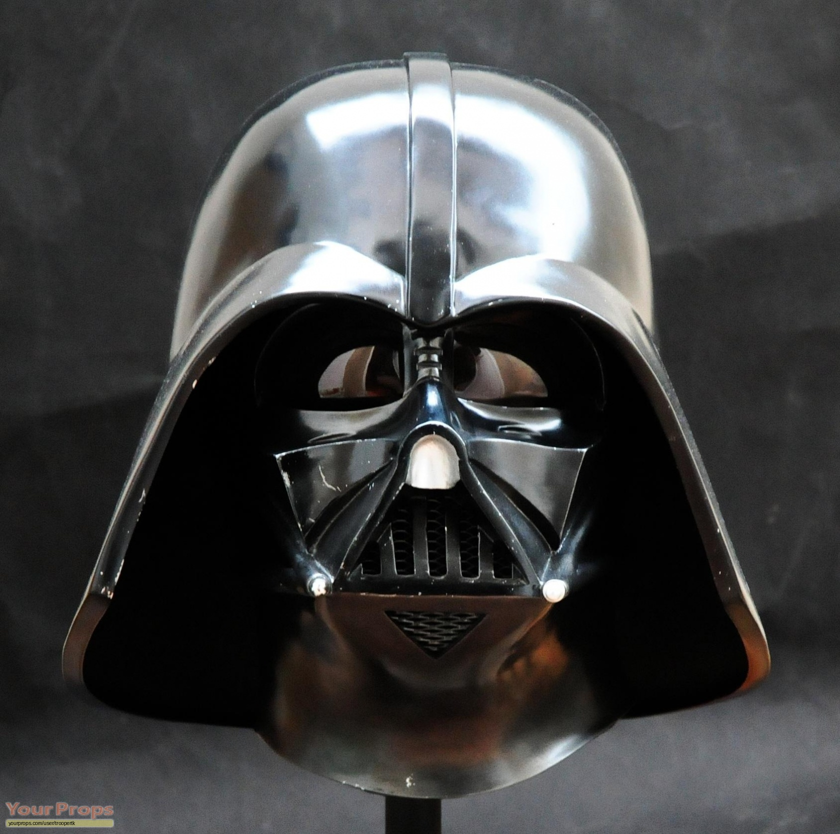 star wars a new hope efx darth vader helmet anh le replica movie prop. Black Bedroom Furniture Sets. Home Design Ideas