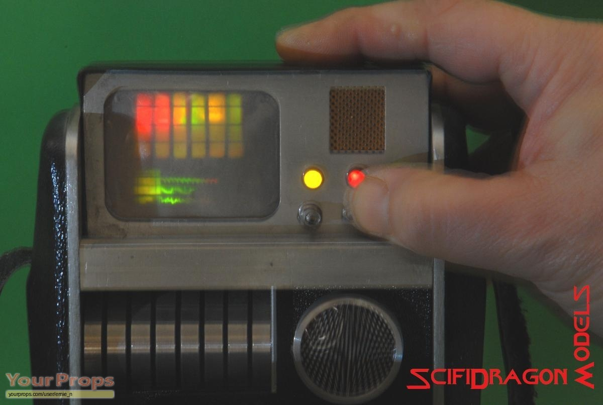 Star Trek: The Original Series TOS TRICORDER - CUSTOM SCREEN replica