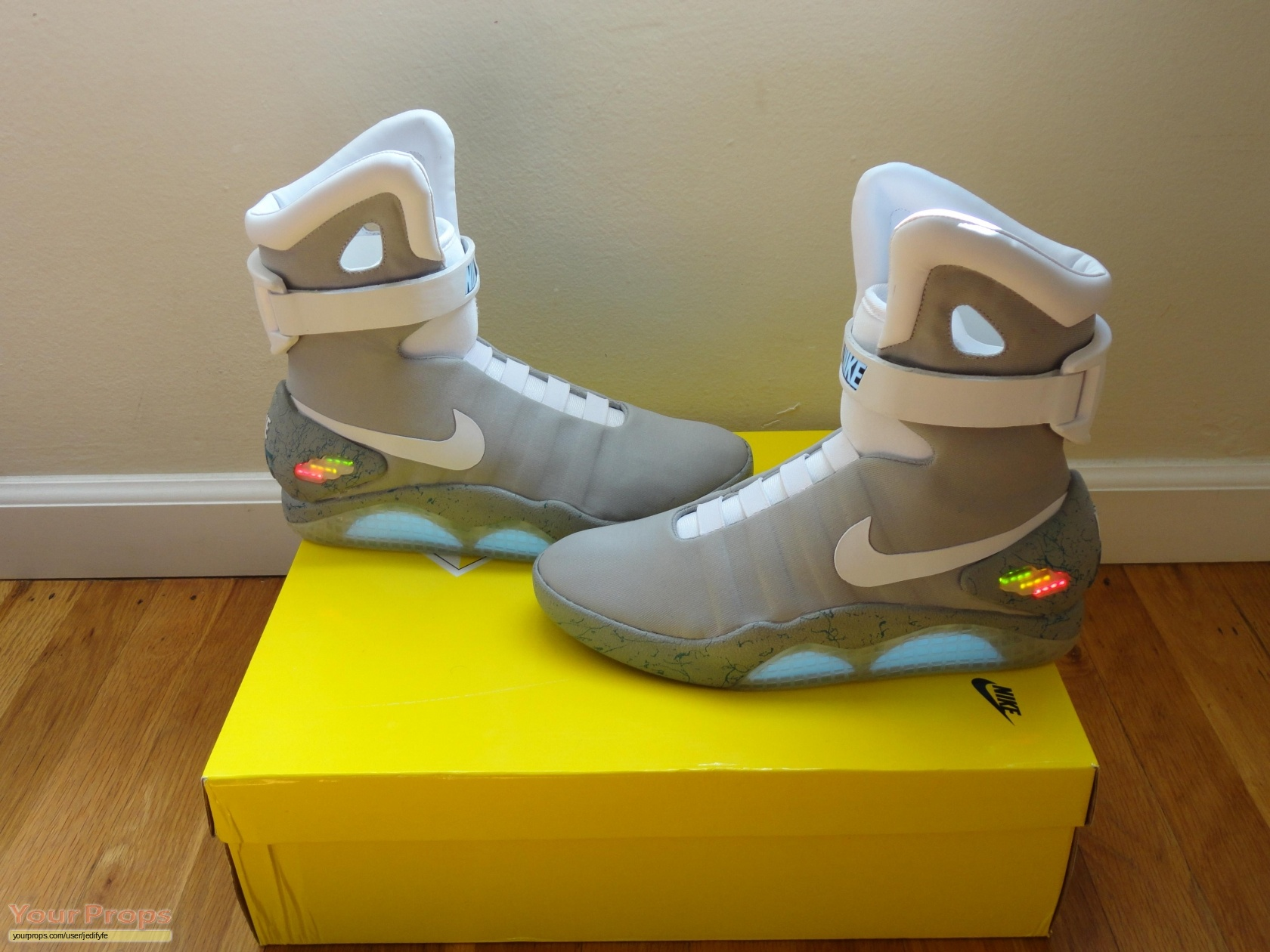 Back To The Future 2 NIKE MAG's replica movie costume