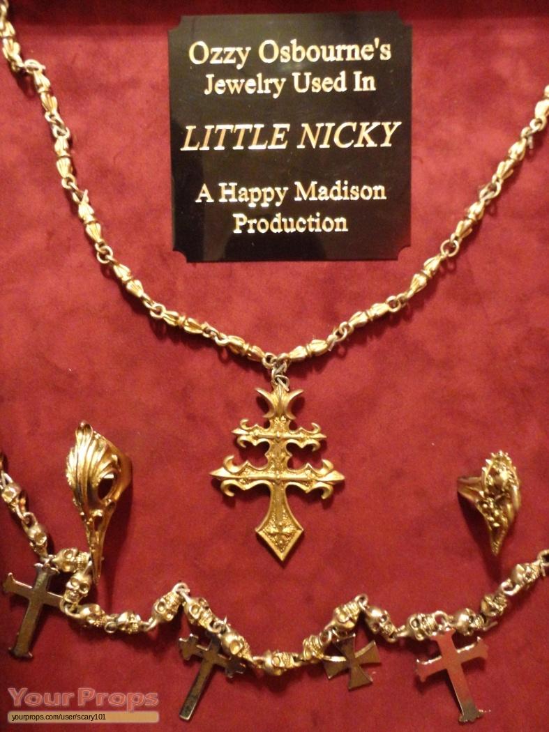 Little Nicky Ozzy Osbourne's jewelry original movie costume