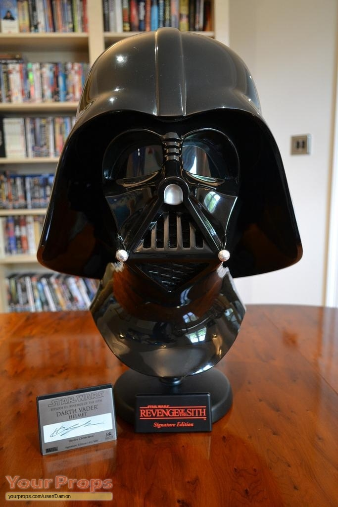 Star Wars Revenge Of The Sith Master Replicas Darth Vader Helmet Master Replicas