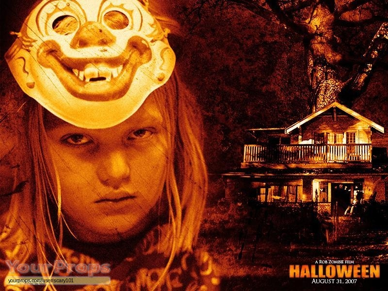 Halloween rob zombie 39 s young michael myers shirt signed original movie costume for Comcostume halloween homme original