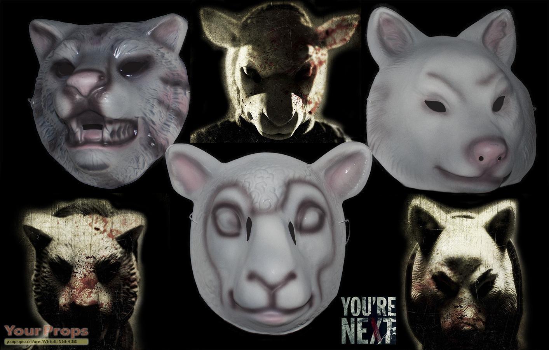 You're Next Masks..