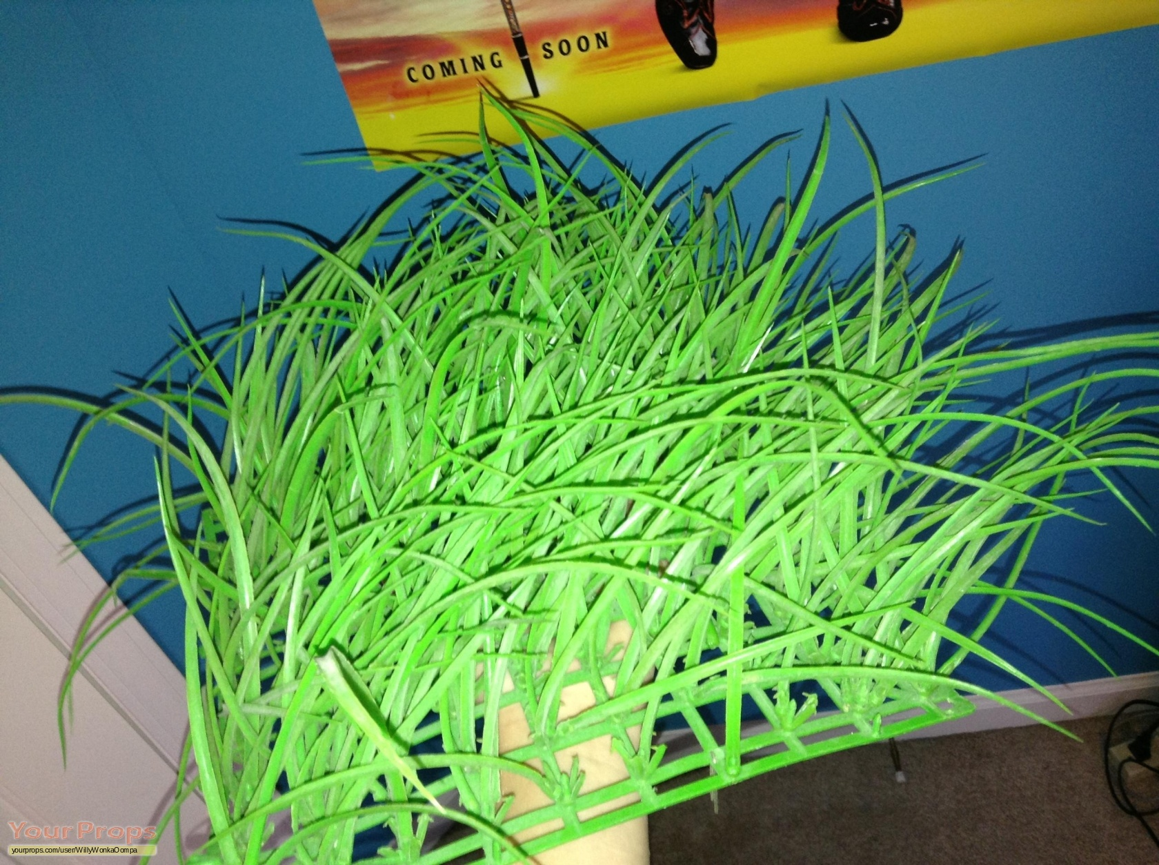 Charlie and the Chocolate Factory Grass from the Chocolate Room ...