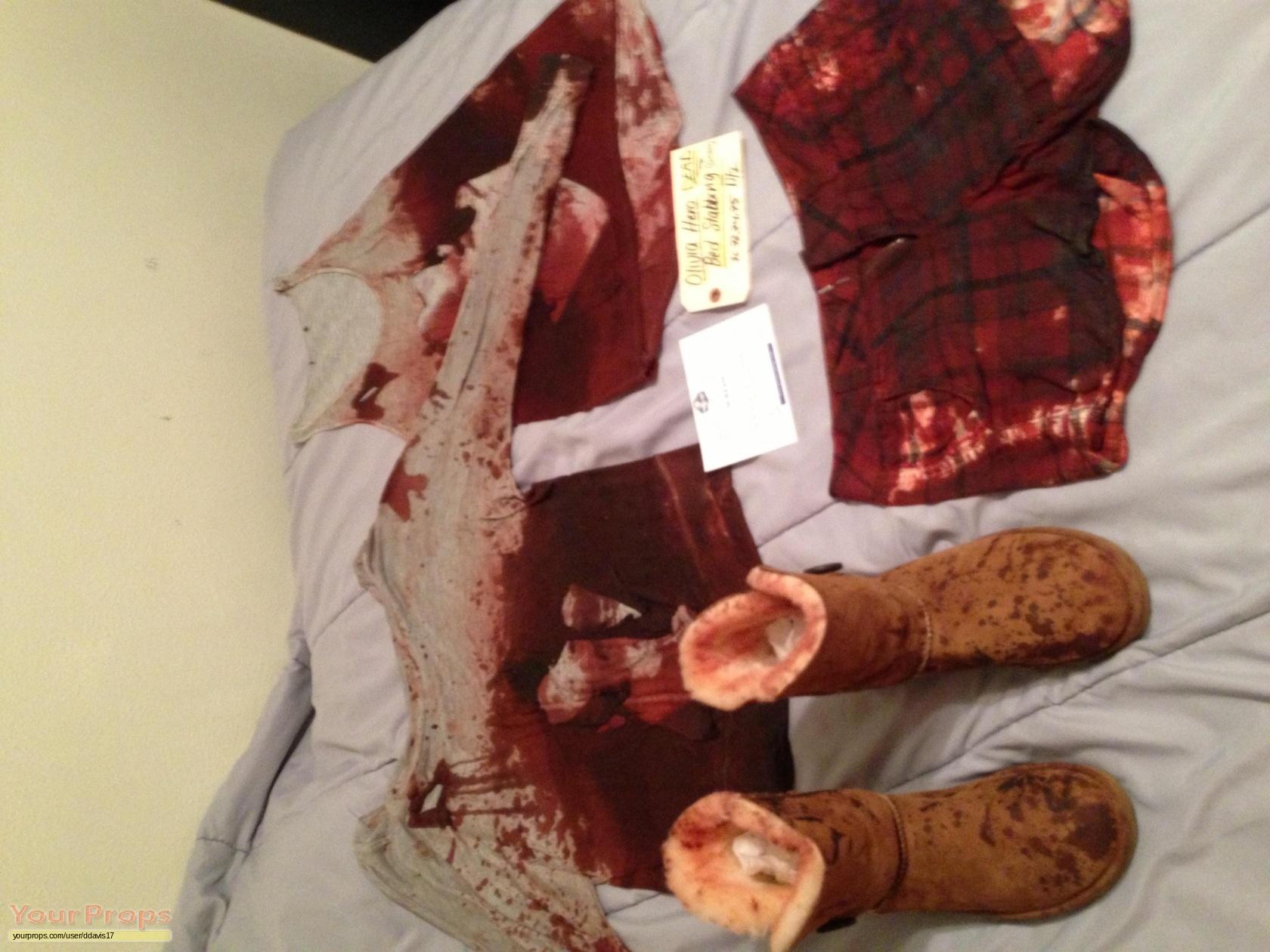 Scream 4 Scre4m Olivia Morris Death Costume Original