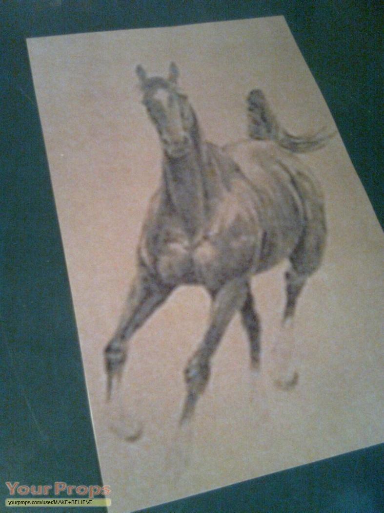 War Horse Joey Sketches Replicas Replica Movie Prop