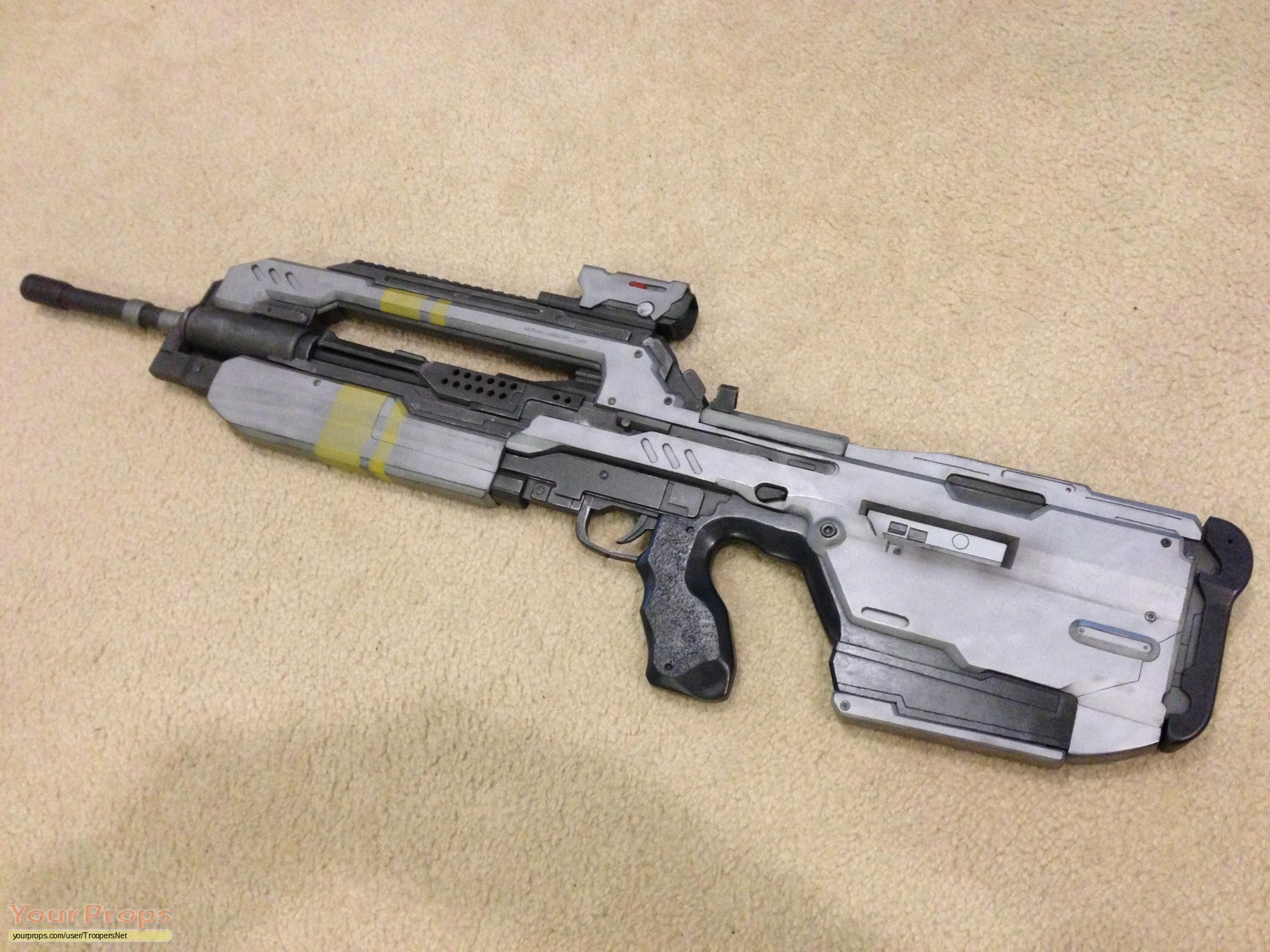 Halo 4 Video Game Br85hb Battle Rifle Replica Prop Weapon