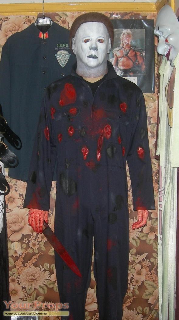 Halloween Michael Myers Costume.Halloween Life Size Michael Myers Display Replica Movie Costume