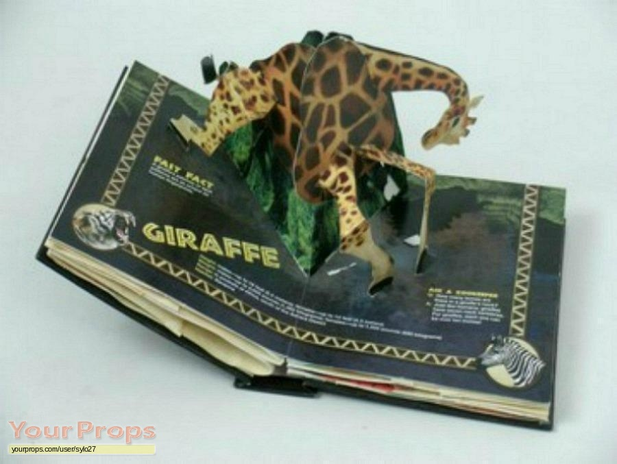 Pop Up Zoos : Scary movie a day at the zoo pop up book original