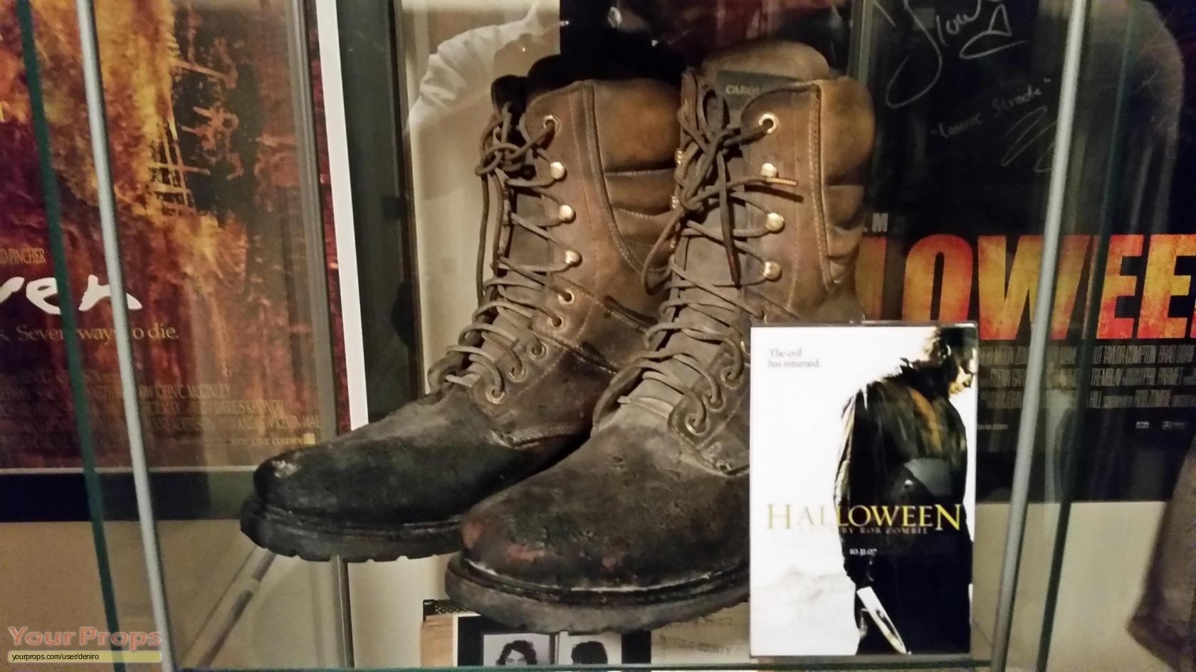Halloween (Rob Zombie's) Michael Myers Screen-Used HERO Boots ...