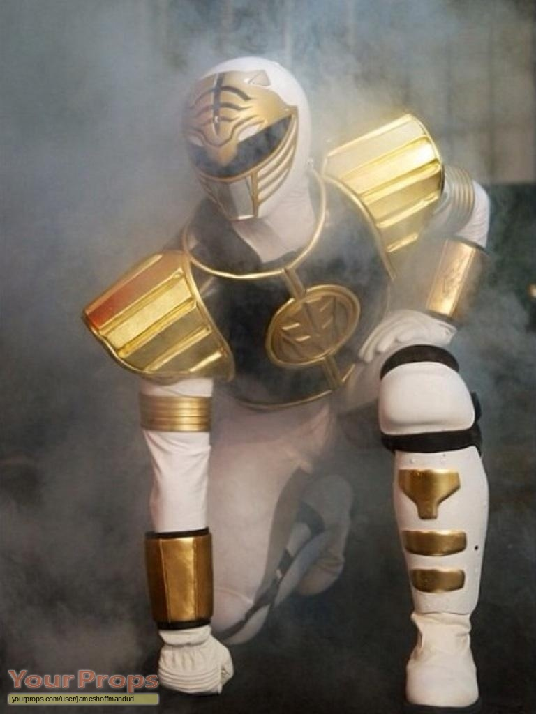 Mighty Morphin' Power Rangers Original white power ranger ...