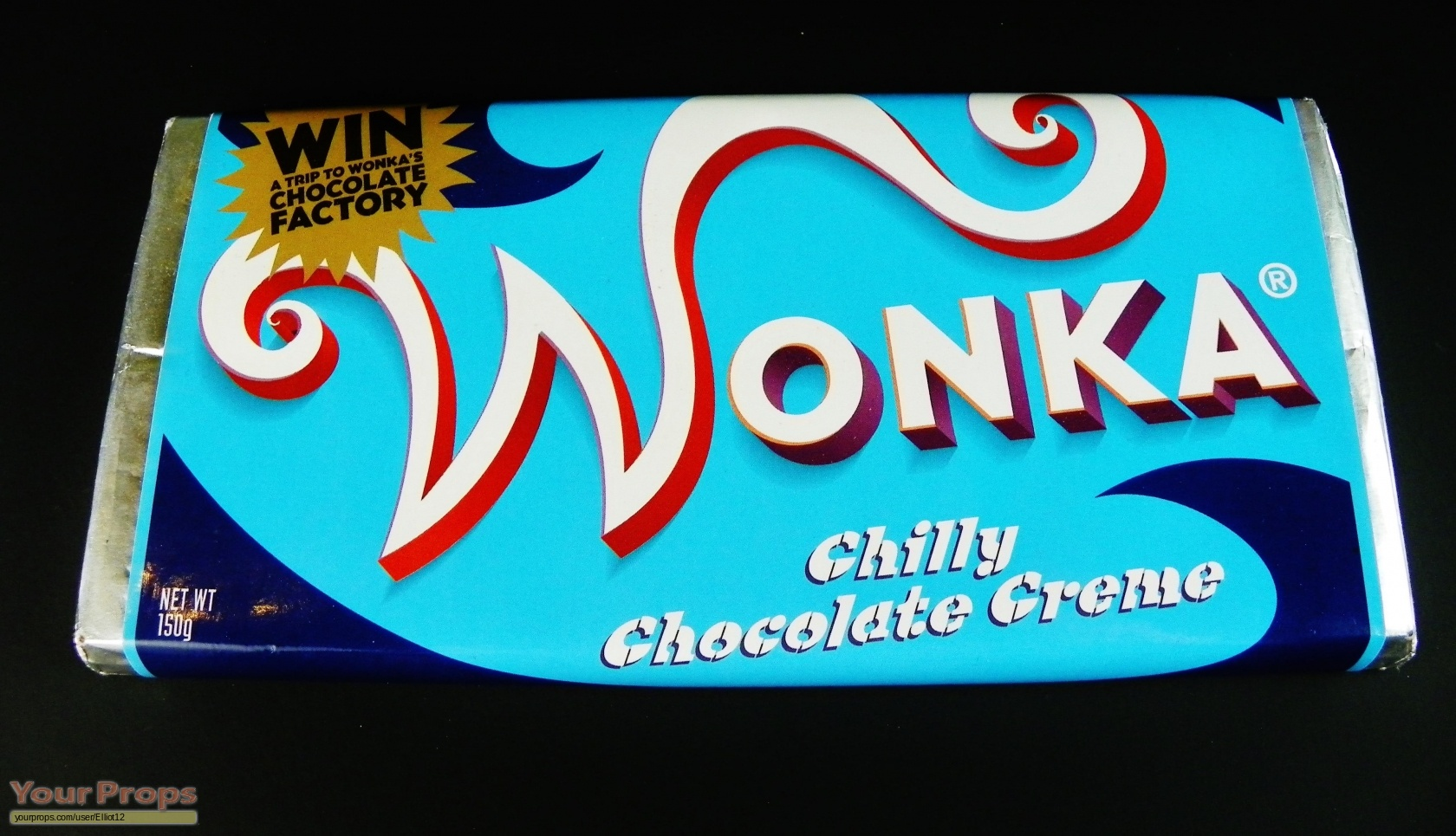 Charlie and the Chocolate Factory Chilly Chocolate Creme Wonka Bar ...