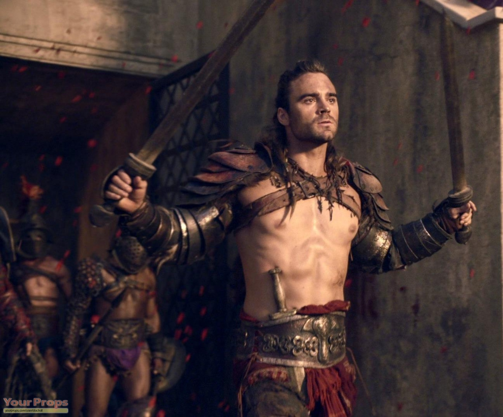 Theme, will spartacus war of the damned gannicus what