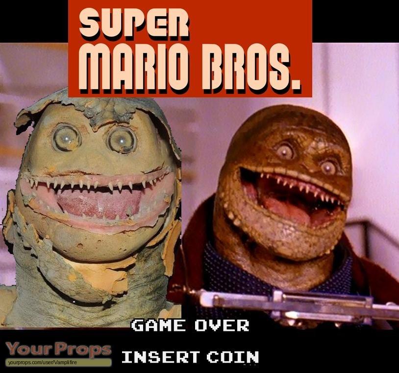Super Mario Bros Toad Goomba From Super Mario Brothers Original