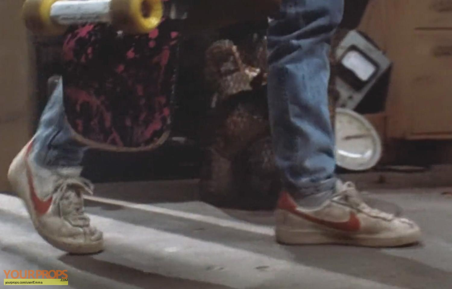 how to make marty mcfly shoes